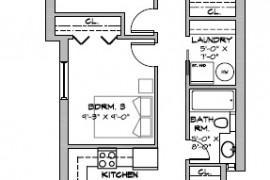 293 Lyon Unit 3 actual layout